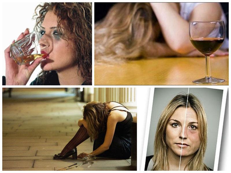 симптомы женского алкоголизма